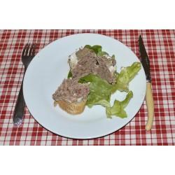 Pâté au foie gras de canard de Barbarie  170 g