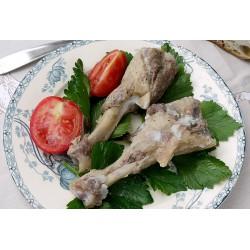 Manchons de canard de Barbarie confits