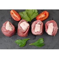 Aiguillettes de canard de Barbarie fourrées au foie gras (8)